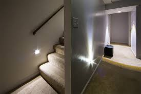 led staircase and basement lighting power outage starter kit basement basement stairwell lighting