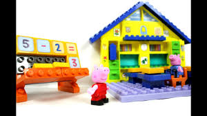 Обзор <b>конструктора Школа</b> Свинки Пеппы (Peppa Pig <b>School</b> ...