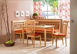 kitchen corner seating corner light brown wooden kitchen bench with l shape and orange kitche