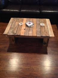 simple wooden pallet table antique unique pallet ideas