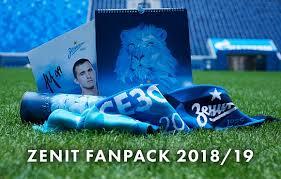 <b>Zenit</b> Fanpack 2018/19: шарф, календарь, постер с автографом ...