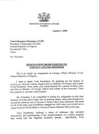dr ngozi okonjo iweala s letter of resignation