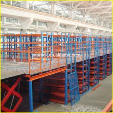 durable customized steel mezzanine floor and platform storage racking system multi tier racking agri office mezzanine floor