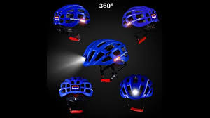 Rockbros <b>cycling helmet with light</b> for day and night - YouTube