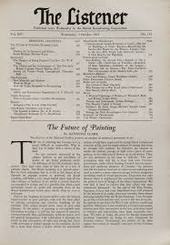 kenneth clark and the death of painting tate kenneth clark the future of painting listener 2 1935
