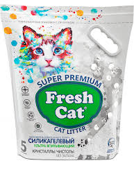 <b>Fresh Cat</b>® «<b>Кристаллы чистоты</b>» — силикагелевый ...
