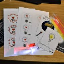 <b>Valentine's Day Glowing</b> Crafts - free downloads | Glowtopia