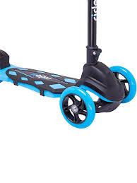 <b>Самокат 3</b>-<b>х колесный</b> RIDEX 3D Robin (120/90 мм), голубой ...