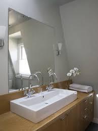bathroom tangular oval tilting mirror