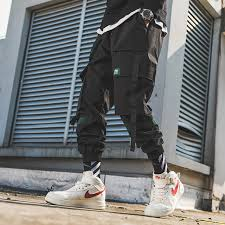 2019 Sweatpants Men Overalls Streetwear Lightweight <b>Hip Hop</b> ...