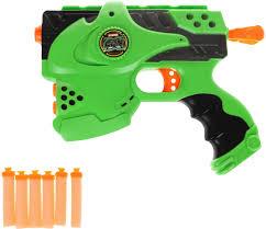 игрушечное оружие <b>veld co</b> пистолет с мягкими пулями цвет ...