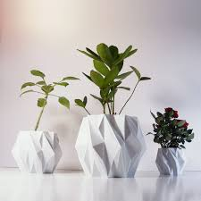 beautiful modern flower pot on plastic indoor plant pots with set of three white plant pots charming office plants