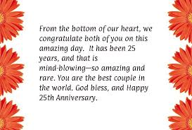 Silver Wedding Anniversary Poems Silver Wedding Anniversary Quotes ...