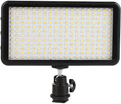 GIGALUMI W228 LED Video Light 6000k Dimmable ... - Amazon.com