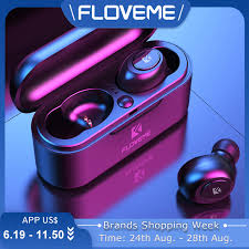 FLOVEME Mini <b>TWS Wireless Headphones</b> Bluetooth 5.0 <b>Earphone</b> ...