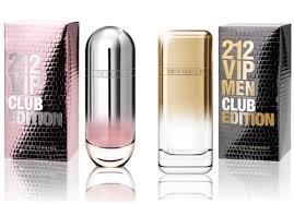 <b>212 VIP Club</b> Edition и 212 VIP Men Club Edition от Carolina Herrera