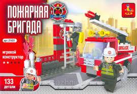 """<b>Конструктор AUSINI</b> """"<b>Пожарная бригада</b>"""" 133 эл. 21401, цена 2 ..."""