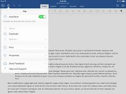 office for ipad export a pdf from word ifttt word for ipad file menu