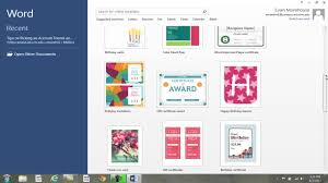 tips for picking an account theme background ms office word  tips for picking an account theme background ms office word 2013
