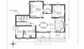 Modern House Plan economic   bedrooms and square meters    kerala home design