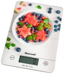<b>Весы кухонные Maxwell MW-1478 MC</b> электронные; до 5 кг (± 1 г ...