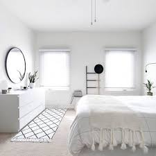 White Minimalist Bedroom More