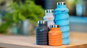 Can your <b>water bottle fold</b> like this? - YouTube