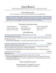 annamua teacher resume samples free