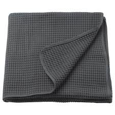 <b>ВОРЕЛЬД</b> Покрывало, темно-серый, 230x250 см купить онлайн в ...