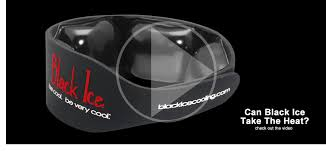 <b>Black Ice</b> Personal Cooling System, Neck Cooling, Pain relief, black ...