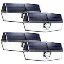 <b>LITOM</b> 120 LED Solar Motion Lights Outdoor, 3 Optional Modes ...