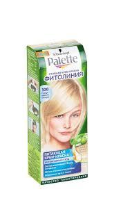 <b>Крем</b>-<b>краска PALETTE</b> Фитолиния Скандинавский блондин, 50мл ...