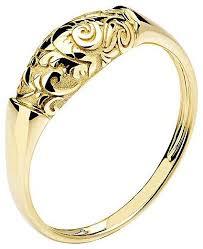Эстет <b>Кольцо коллекции Totem</b> Fox/Лиса из жёлтого золота ...
