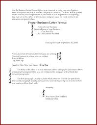 12 proper business letter format sendletters info examples proper business letter format 1
