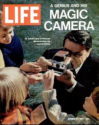 「Edwin Land demonstrate the instnat camera」の画像検索結果