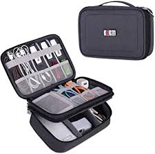 BUBM Electronic <b>Organizer</b>, Double Layer Travel <b>Gadget Storage</b> ...