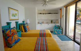 Bedroom For Two Twin Beds St Thomas Oceanfront Condos