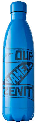 <b>Термос Our Name Is</b> Zenit, голубой оптом под логотип