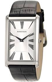 <b>ROMANSON</b> Mens Collection <b>TL 0390 MW</b>(WH) - купить <b>часы</b> в ...