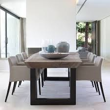 contemporary dining table cute details