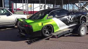 Stock Gte Vvti Drift Car First Drift With No Issues