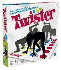 <b>Настольная игра</b> Hasbro Игры <b>Твистер</b> 98831 — купить по ...