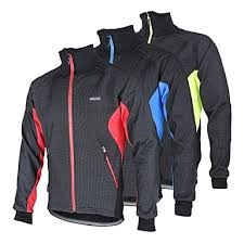 Arsuxeo Men's <b>Cycling</b> Jacket <b>Bike</b> Jacket <b>Winter Fleece</b> Jacket Top ...
