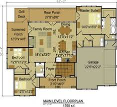 Floor plans  Floors and Master suite on PinterestOne or Two Story Craftsman House Plan
