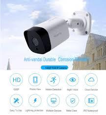 <b>Kingkonghome</b> 2.8mm lens IP Camera <b>1080P</b> night vision with <b>48v</b> ...