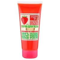 Organic Shop <b>Скраб</b> для тела Клубника со сливками — <b>Скрабы</b> и ...