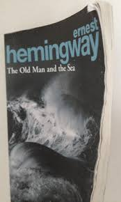 the old man and the sea ernest hemingway nicholasjparr my copy after a few days on the beaches of barcelona looking as battered as santiago