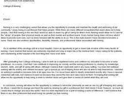 nurse practitioner admission essay sample nurse practitioner admission essay  admission essay
