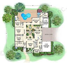 Villa Roberto House Plans   Home Plans By Archival DesignsVilla Roberto House Plan   House Plan   Italian   First Floor Plan