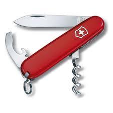 Нож <b>Victorinox 0.3303 WAITER</b>, 84 мм., красный — купить в ...